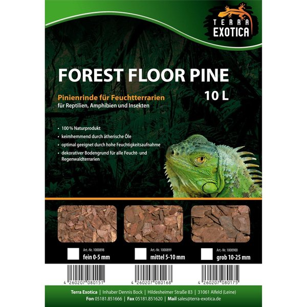 Forest Floor Pine 10L - Pinie grob 10-25 mm